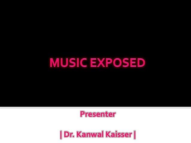 Presenter| Dr. Kanwal Kaisser |