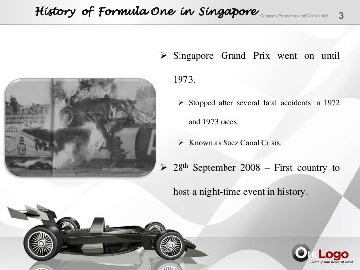 a study on singapore grand prix Singapore f1 grand prix: a case study on incentivized marketing to drive tourism tapping into consumer behaviour, ideas working paper series from repec, ideas working paper series from repec advertisements.