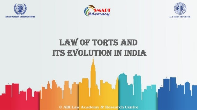 law of torts pdf india