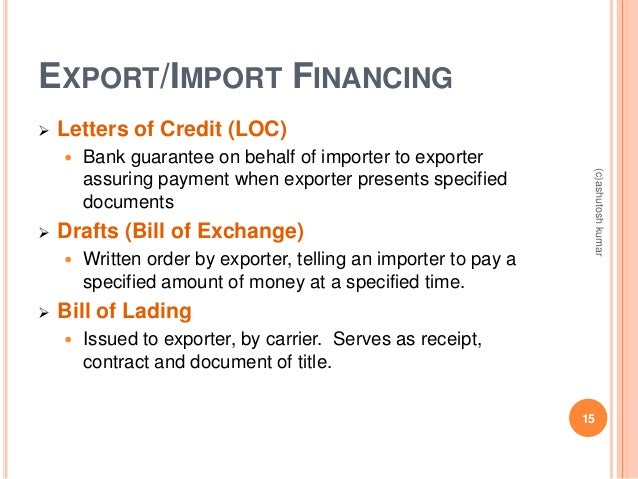 import export financing Free up your cash flow so you can focus on growing your business with our import financing solutions we offer customised solutions depending on your trade cycle to ensure your needs are met.