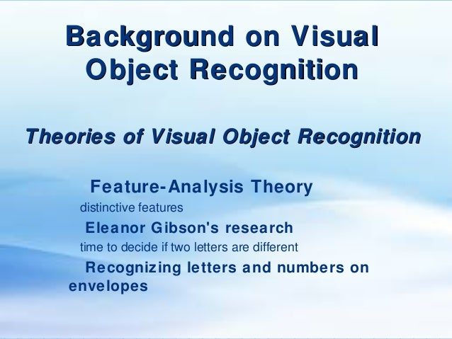 change blindness and visual memory research and theories Failures of retrieval and comparison constrain change detection in  according to visual transience theories, change blindness occurs  visual memory and change.