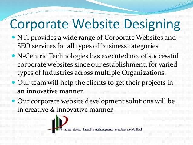 Good Webdesigning company  SEO Company Slide 3