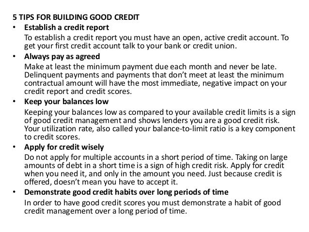 The Importance of Good Credit and How to Take Advantage