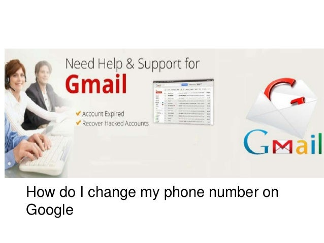 how do i change my google account number