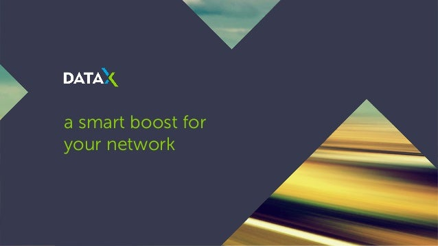 a smart boost for your network