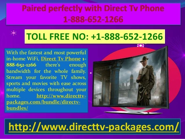 Easy setup and installation with Direct Tv Packages 1-888