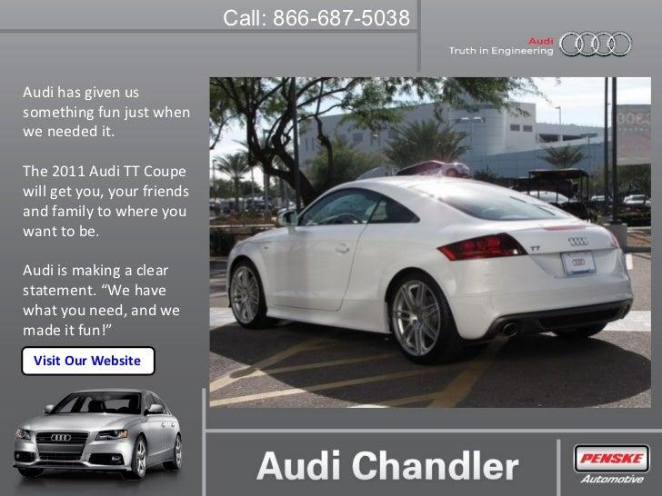 Audi TT Coupe Chandler Arizona - Audi chandler
