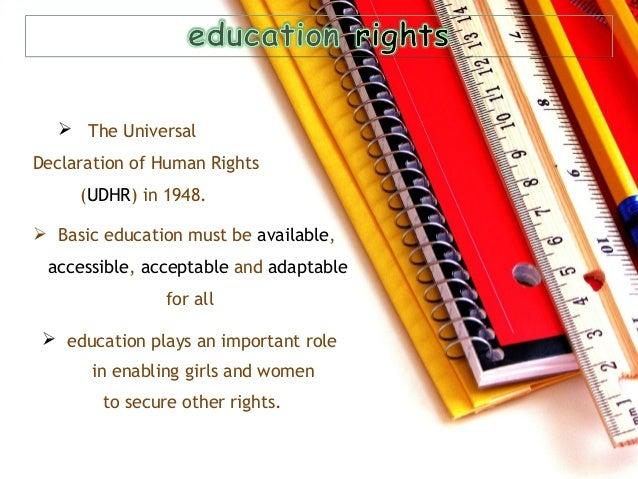 women's education Slide 3