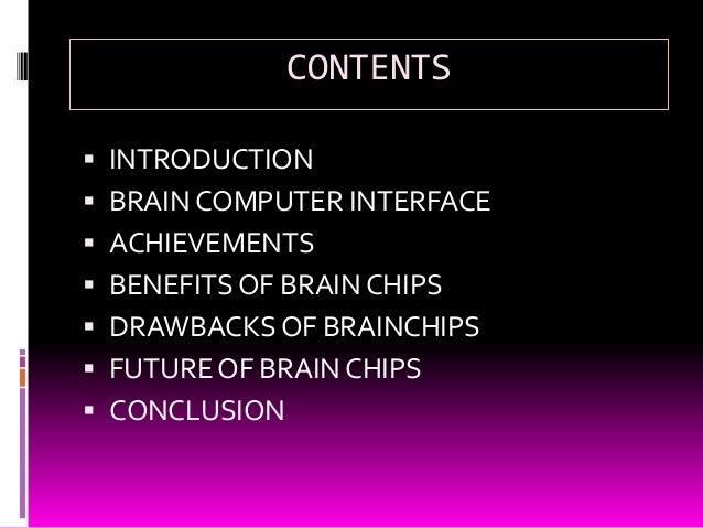 BRAIN CHIP TECHNOLOGY Slide 2