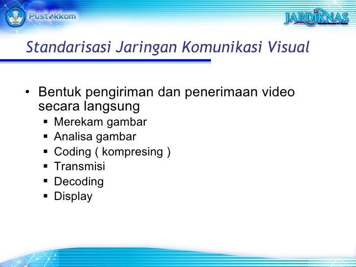 <ul><li>Bentuk pengiriman dan penerimaan video secara langsung </li></ul><ul><ul><li>Merekam gambar </li></ul></ul><ul><ul...