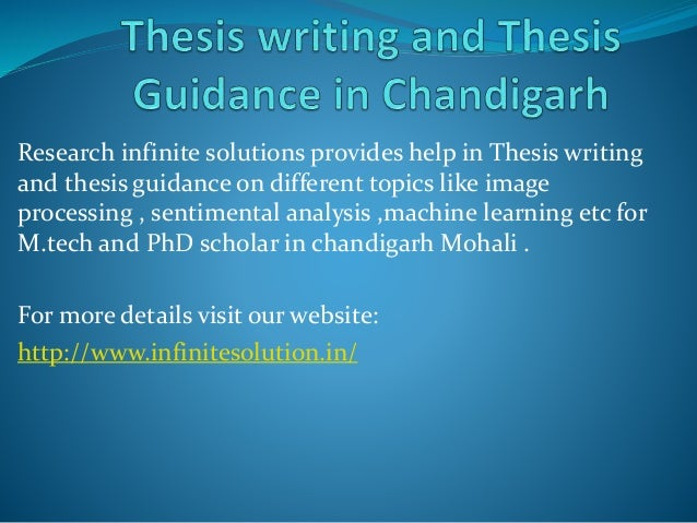 thesis writing service in chandigarh hotels