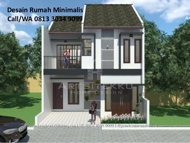 Call Wa 0813 5828 2515 Gambar Rumah Model Minimalis Surabaya