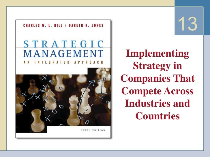 13 Implementing Strategy in Companies That Compete Across Industries and Countries