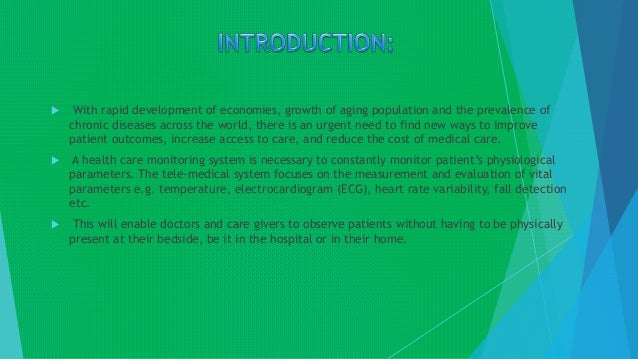 PATIENT HEALTH MONITORING SYSTEM Slide 2