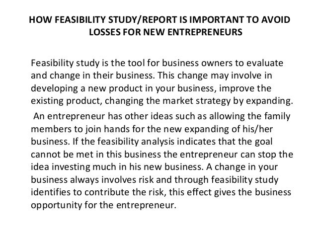 Conducting a Feasibility Study - asha.org