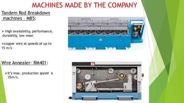 Single and Double Spooler Machines: Buncher Machine:
