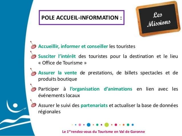 Pr sentation office de tourisme du val de garonne - Office du tourisme de champagny en vanoise ...