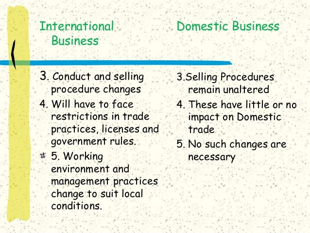 difference in international business versus domestic A domestic corporation is one formed in the state in which it is doing business a foreign corporation  any price difference  domestic or foreign corporation.