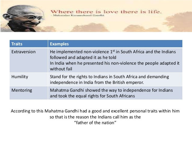 An introduction to the life of mahatma gandhi