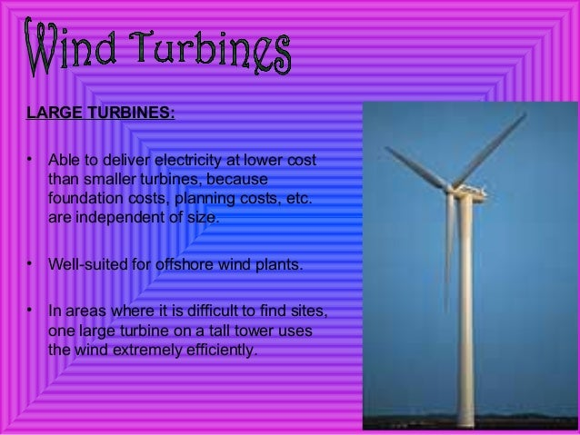 Wind power plant presentation (seminar ppt).