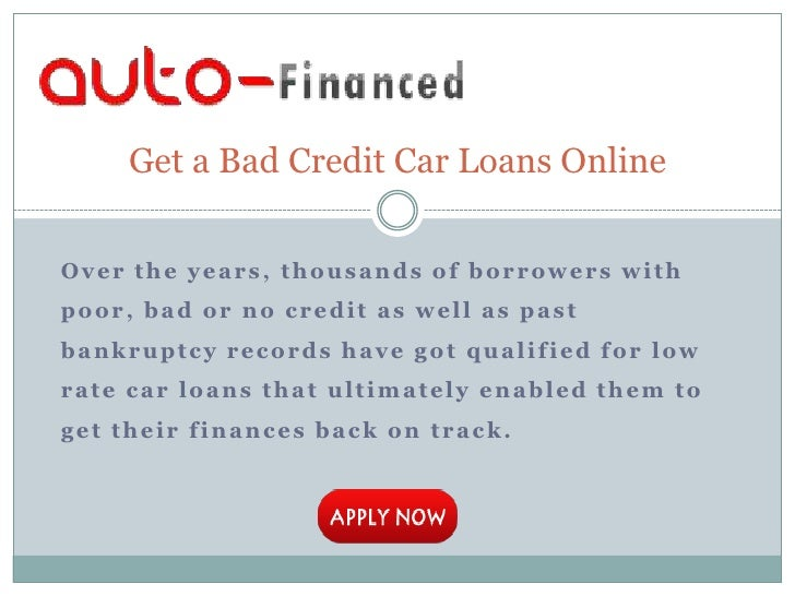 Can I Get A Second Car Loan With Bad Credit