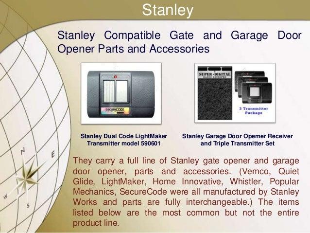 6. StanleyStanley Compatible Gate And Garage DoorOpener Parts And  Accessories Stanley ...