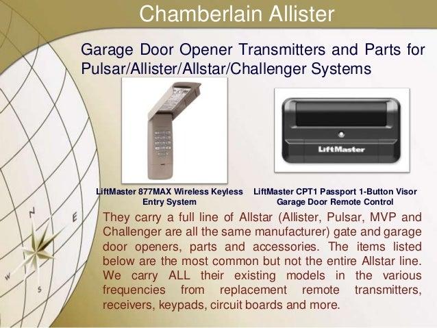 All-O-Matic Compatible Garage Door Opener Parts ...