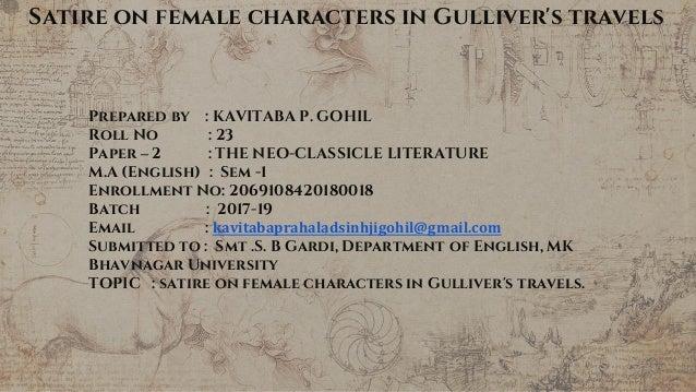 Satire On Women In Gulliver S Travels
