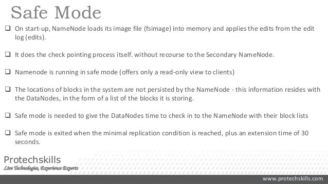 Hadoop HDFS Concepts