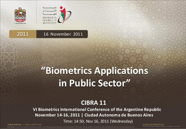 "2011                                          16 November 2011                                                        ""Bio..."