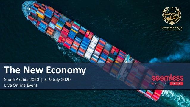 The New Economy Saudi Arabia 2020   6 -9 July 2020 Live Online Event