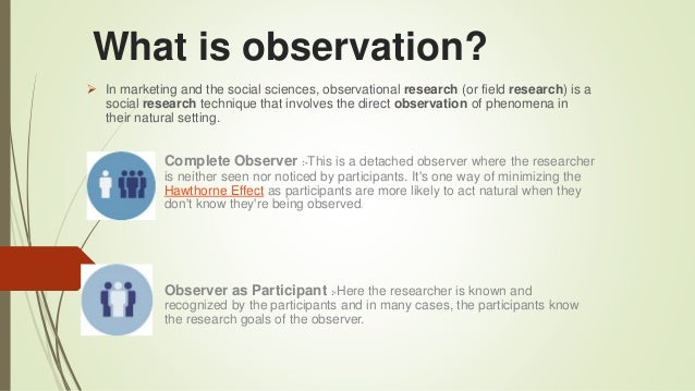 detached observation: the key of knowing in science