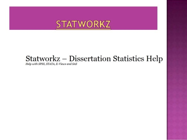 We are a leading Dissertation statisticsAssistance provider firm. With a team ofaround 25 highly experienced statisticians...