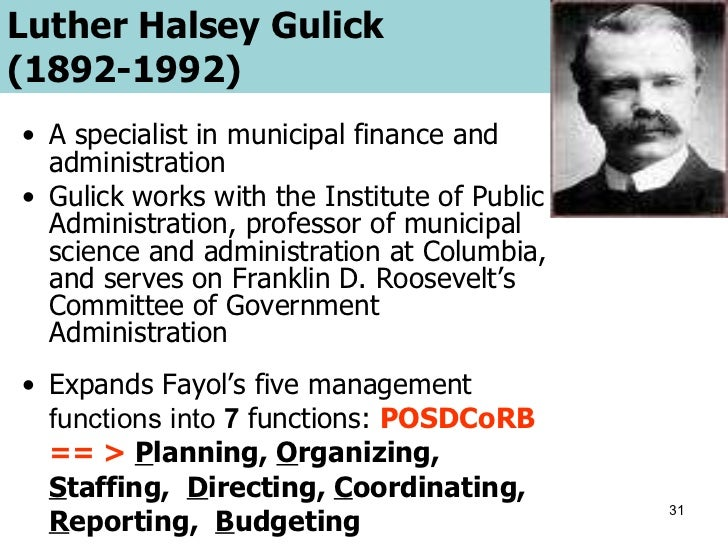 a biography and life work of luther halsey gulick an american political scientist Luther gulick's main passion was the importance of play his philosophy of play was part of the movement that helped increase the development of playgrounds and recreational pursuits, which led to the inclusion of lifetime sports and activity offerings in physical education.