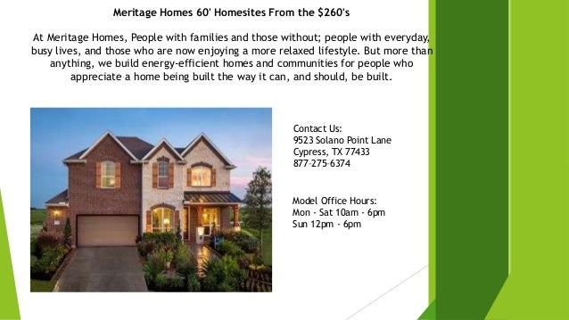 Available Newly Build Construction Homes in Cypress, TX