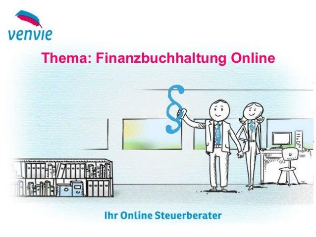 Thema: Finanzbuchhaltung Online