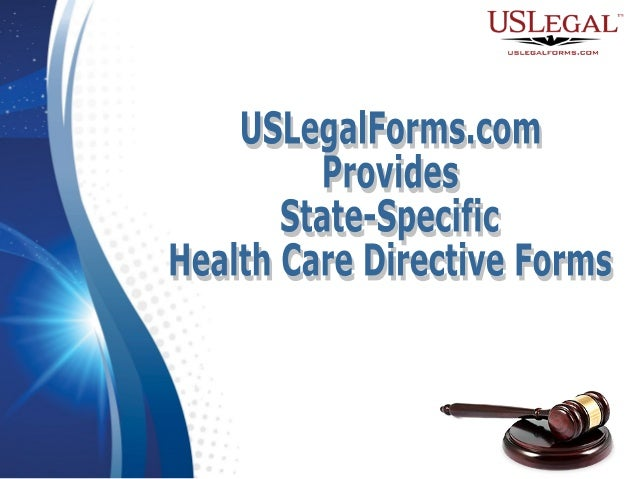 USLegalFormscom Provides StateSpecific Health Care Directive Forms - Us legal forms