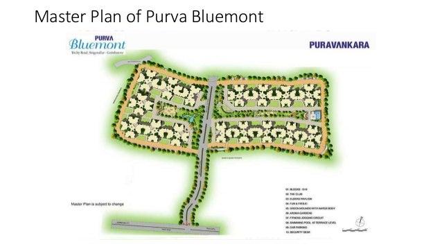 Master Plan of Purva Bluemont