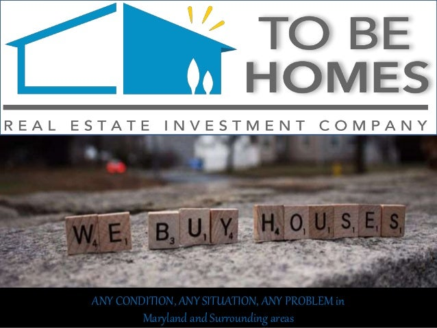 ANY CONDITION, ANY SITUATION, ANY PROBLEM in Maryland and Surrounding areas