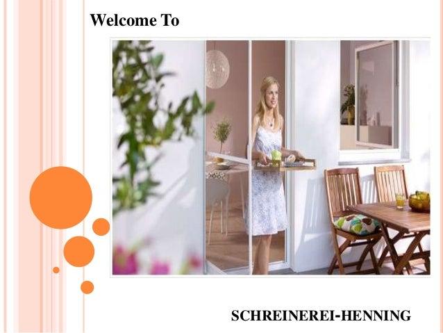 SCHREINEREI-HENNINGWelcome To