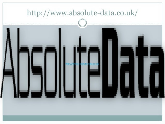 http://www.absolute-data.co.uk/  http://www.absolute-data.co.uk/