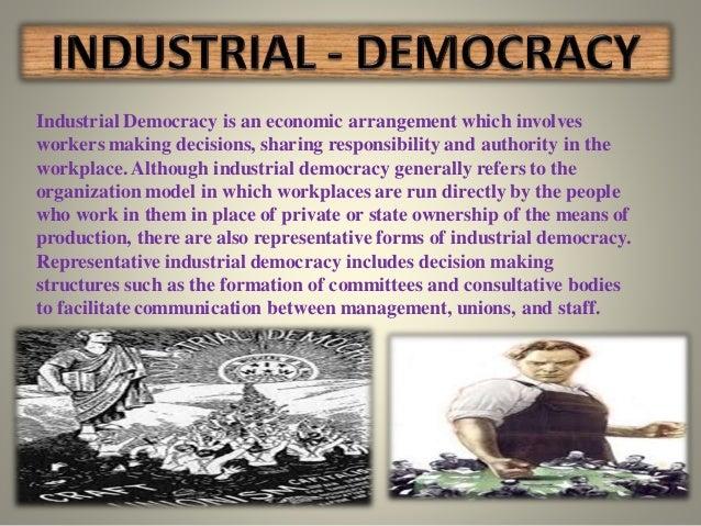 Trade Union Representative >> industrial democracy