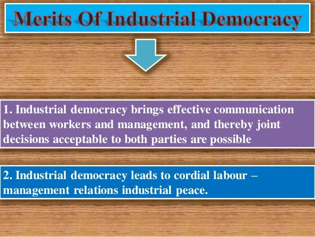 industrial democracy