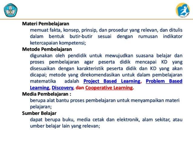Materi Rpp Untuk Guru Sasaran 2014