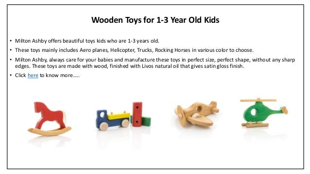 Wooden Toy Trucks For 3 Year Old : Unique wooden toys for kids milton ashby