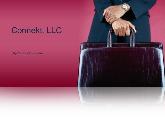 Connekt. LLC http://connektllc.com/