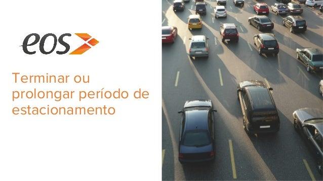 Terminar ou prolongar período de estacionamento