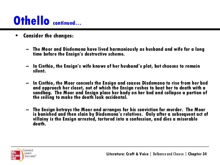 psych approach to othello Extracts from this document introduction feminist perspective on othello: the play othello contains an undercurrent of issues to deal with relationships, jealousy, power and most of.
