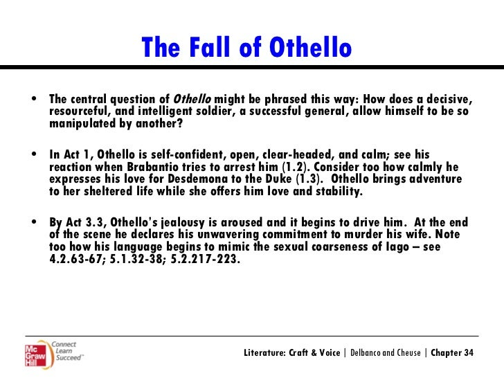 Shakespeare othello short summary