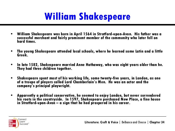 Ppt on william shakespeare |authorstream.